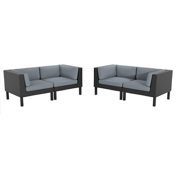 Oakland 4 Piece Loveseat
