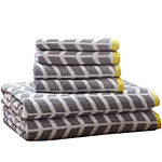 Intelligent Design Elle 6-pc. Towel Set