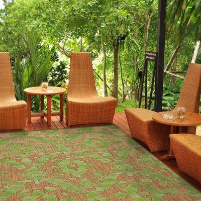 Feizy Rugs® Ikat Indoor/Outdoor Rectangular Rug