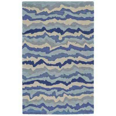 Feizy Rugs® Lonni Waves Indoor/Outdoor Rectangular Rug