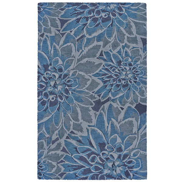 Feizy Rugs® Lonni Floral Indoor/Outdoor Rectangular Rug
