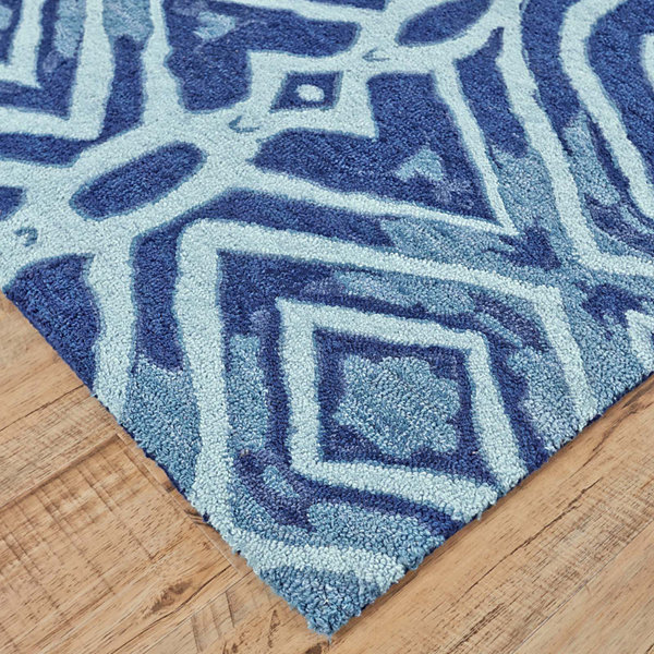 Feizy Rugs® Lonni Hypnotic Indoor/Outdoor Rectangular Rug