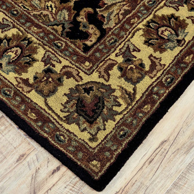 Feizy Rugs® Wakefield Sickle Leaf Rectangular Rug