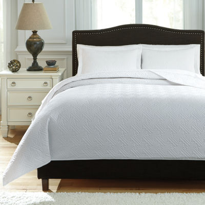 Signature Design By Ashley® Aldis 3-pc. Coverlet Set