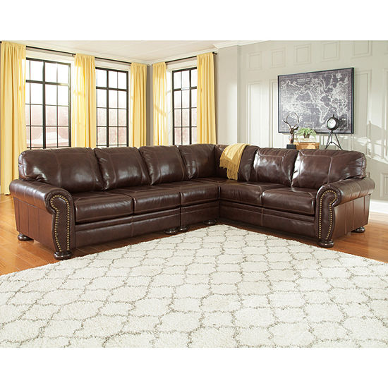 Signature Design By Ashley Banner 3 Pc Sectional Jcpenney