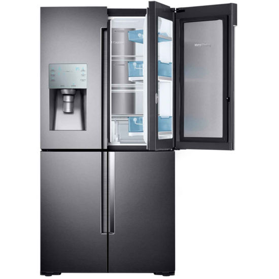 Samsung ENERGY STAR® 22.1 cu. ft. Counter Depth 4-Door Flex Food Showcase French Door Refrigerator
