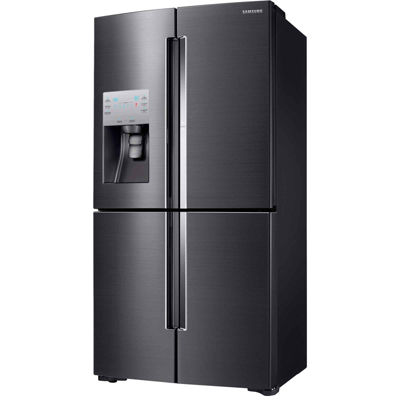 Samsung ENERGY STAR® Smart Wi-Fi Enabled 22.1 cu. ft. Counter Depth 4-Door Flex Food Showcase French Door Refrigerator