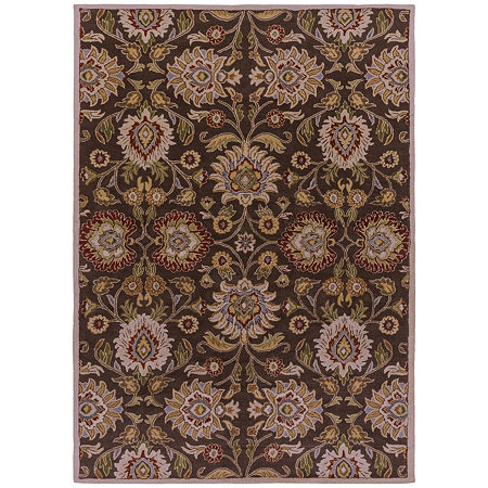 Decor 140 Cabrin Hand Tufted Rectangular Indoor Rugs, One Size , Brown Product Image