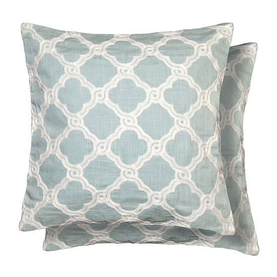 Crystal Multi-Pack Square Throw Pillow