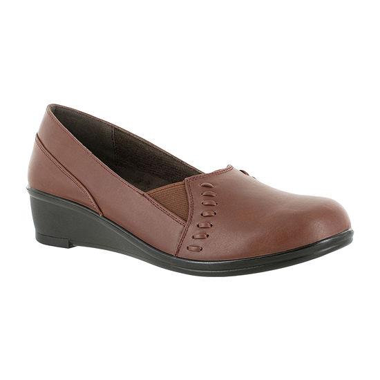 Easy Street Womens Story Slip-On Shoe