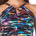 Trimshaper Control High Neck Swimsuit Top