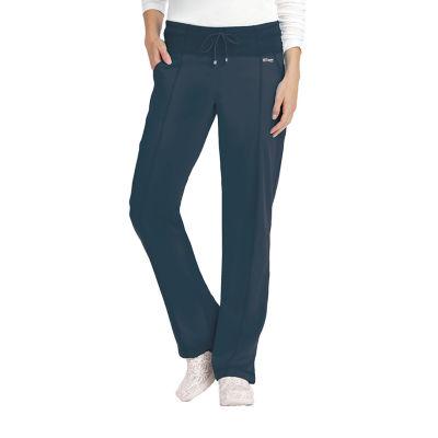 Barco Grey's Anatomy 4276X Yoga Knit Waistband Womens Scrub Pants-Plus