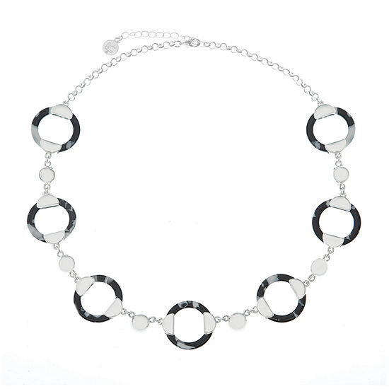 Liz Claiborne Spring Effect 20 Inch Cable Collar Necklace