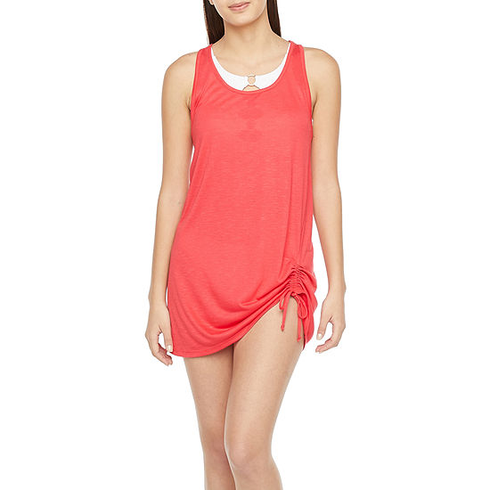 Decree Womens Dress Swimsuit Cover-Up Juniors
