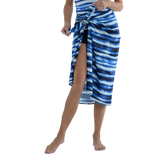 Sonnet Shores Tie Dye Sarong Swimsuit Cover-Up