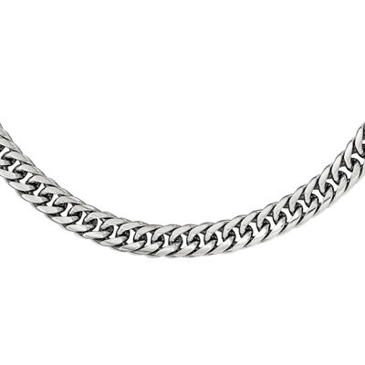 Stainless Steel 24 Inch Link Chain Necklace