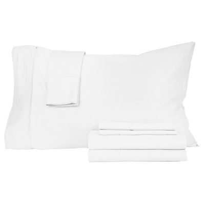Perthshire™ Platinum 410tc Cotton Sateen 6-pc. Sheet Set