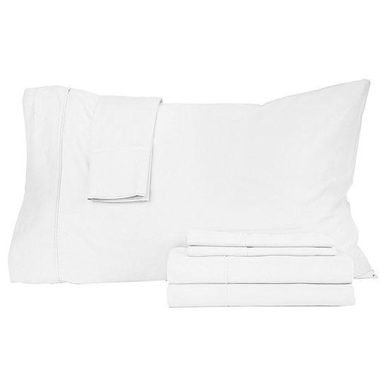 Perthshire™ Platinum 410tc Cotton Sateen 6-pc. Sheet Set