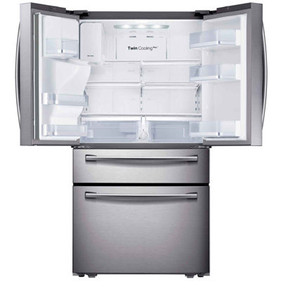 Samsung ENERGY STAR® 29.7 cu. ft. 4-Door French Door Refrigerator in Stainless Steel