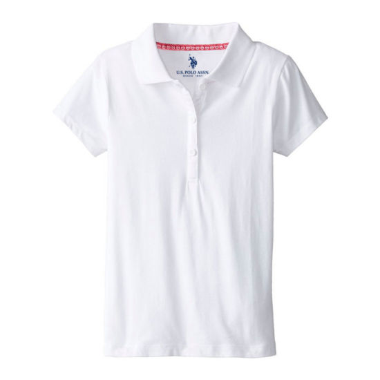 U.S. Polo Assn.® Short-Sleeve Stretch Knit School Uniform Polo - Preschool Girls 4-6x