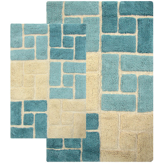 Chesapeake Merchandising Berkely 2 Pc Bath Rug Set