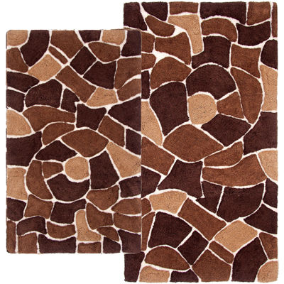 Chesapeake Merchandising Boulder 2-pc. Bath Rug Set
