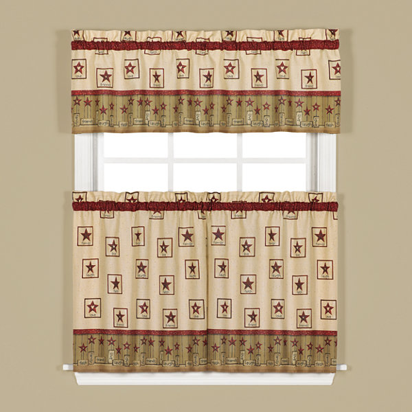 Saturday Knight Life's Treasures Rod-Pocket Tailored Valance