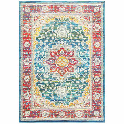 Covington Home Jocelyn Heriz Rectangular Rugs
