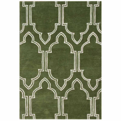 Alliyah Rugs Handmade New Zealand Hand Tufted Rectangular Rugs
