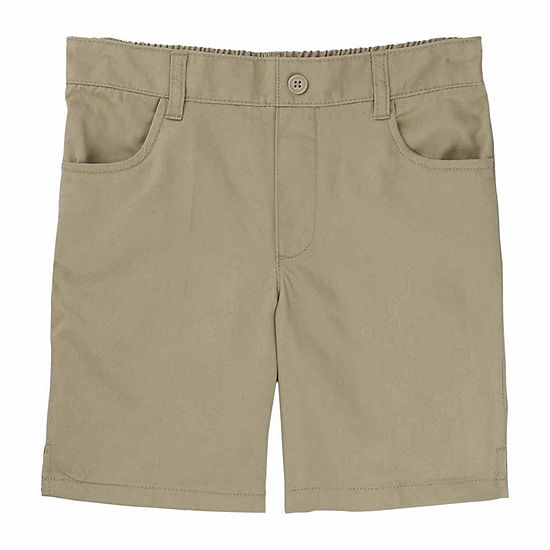 French Toast Pull-On Shorts - Girls 4-20 and Plus