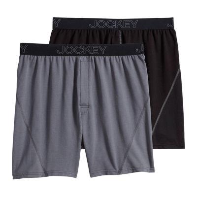 Jockey® 2 Pair No Bunch Boxers™ - Men's