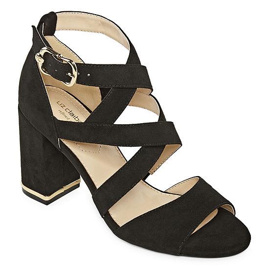 Liz Claiborne Womens Matta Heeled Sandals