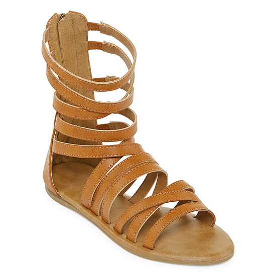 Bamboo Womens Happiness 85m Gladiator Sandals