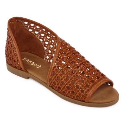 Bamboo Womens Hippie-62m Flat Sandals