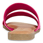 Bamboo Womens Relish-06 Flat Sandals