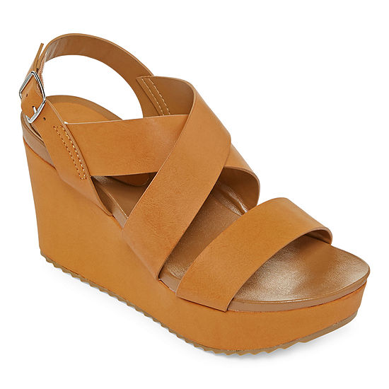 Bamboo Womens Cuddle-10s Wedge Sandals