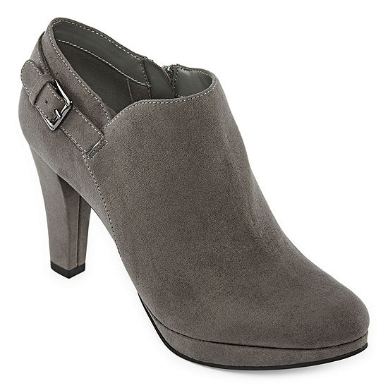 east 5th Womens Esme Booties Cone Heel