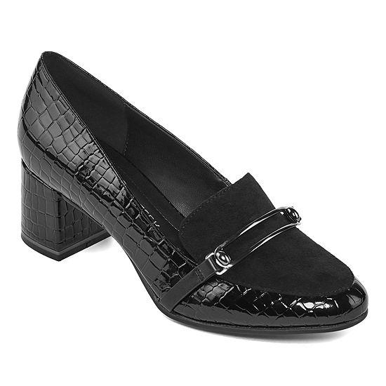 Andrew Geller Womens Jenna Slip-On Shoe Round Toe