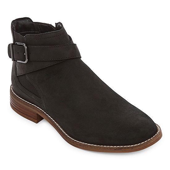 Clarks Womens Camzin Hale Booties Flat Heel