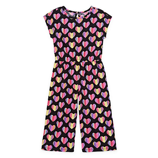 Okie Dokie Girls Jumpsuit - Toddler