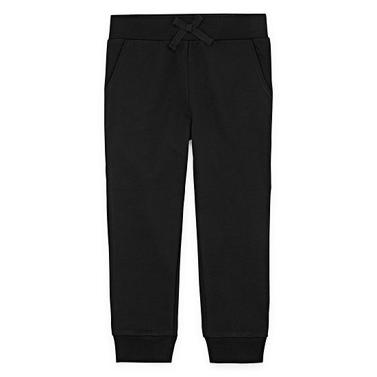 Okie Dokie Girls Straight Jogger Pant - Toddler