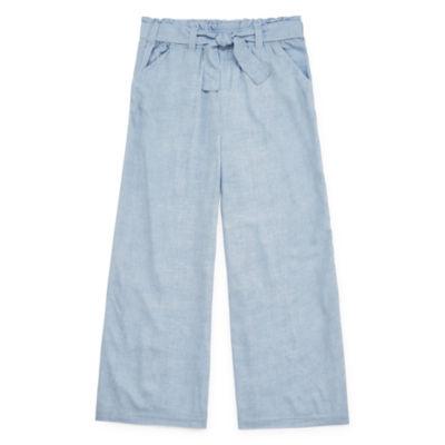 Arizona Girls Wide Leg Pull-On Pants - Preschool / Big Kid