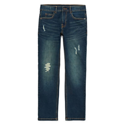 Arizona Advance Flex 360 Boys Stretch Slim Fit Jean Preschool / Big Kid