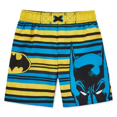 Boys Batman Swim Trunks-Toddler