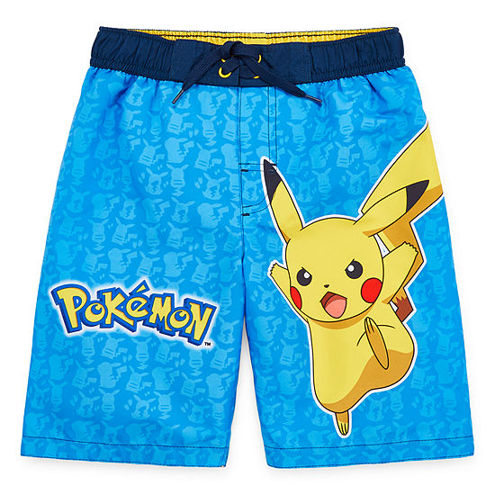 Boys Pokemon Swim Trunks Preschool / Big Kid