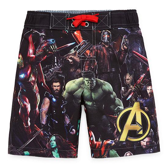 Avengers Boys Avengers Swim Trunks Preschool / Big Kid