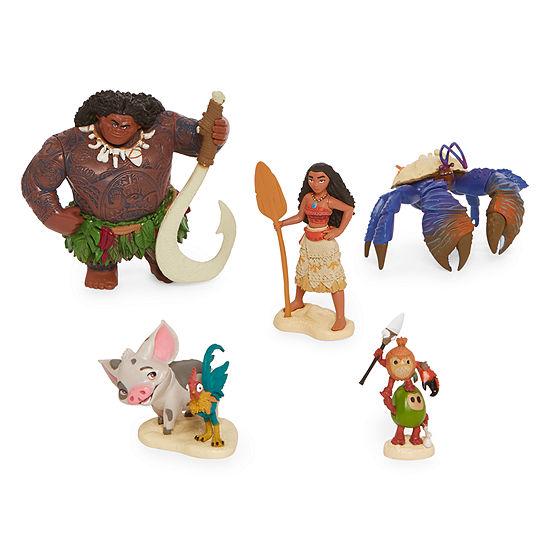 Disney 5 Pc Moana Action Figure