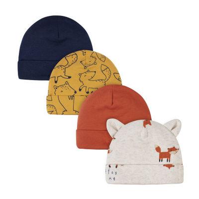 Gerber Baby Boys 4-pc. Baby Hat