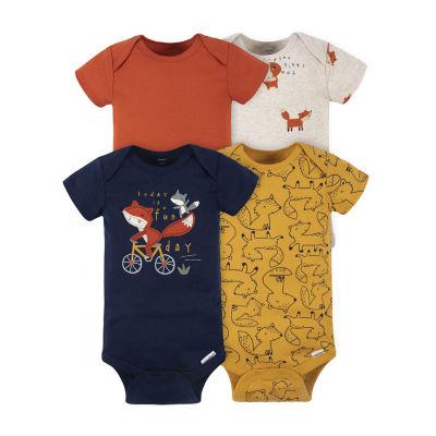 Gerber Baby Boys 4-pc. Bodysuit