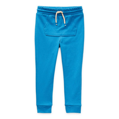 Okie Dokie Toddler Boys Jogger Mid Rise Cuffed Sweatpant